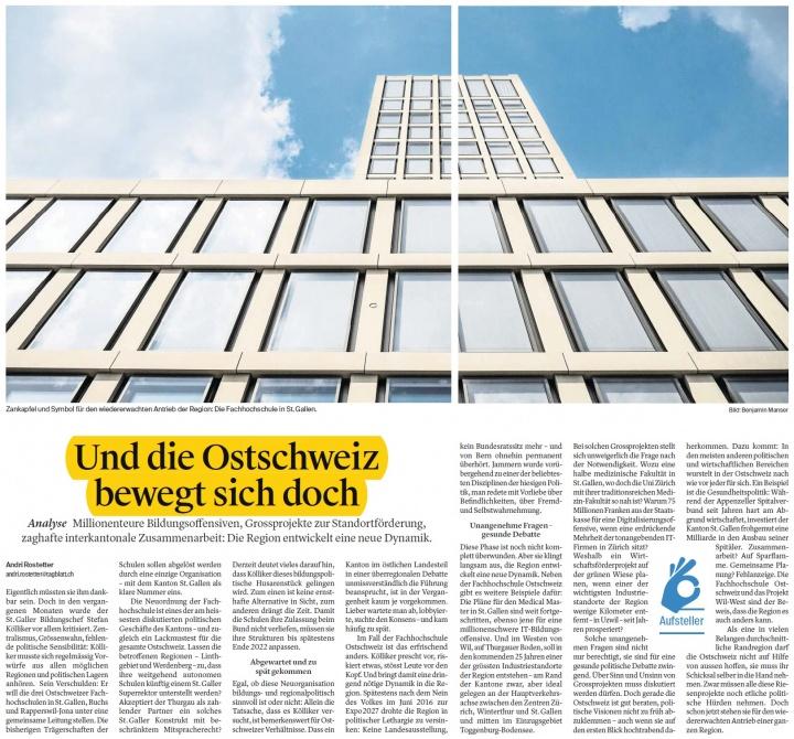 Und die Ostschweiz bewegt sich doch (Donnerstag, 28.12.2017)