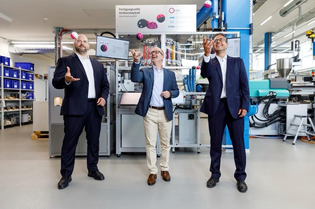 Medienkonferenz OST Smart Factory IT-Bildungsoffensive 18.6.2021