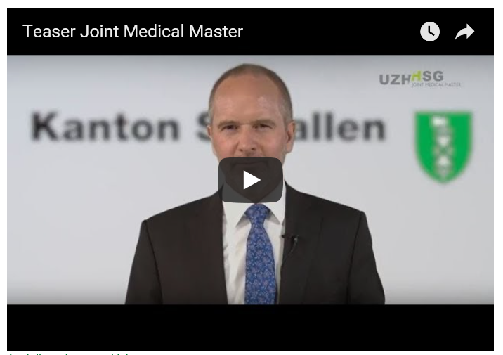 Informationen zum Joint Medical Master