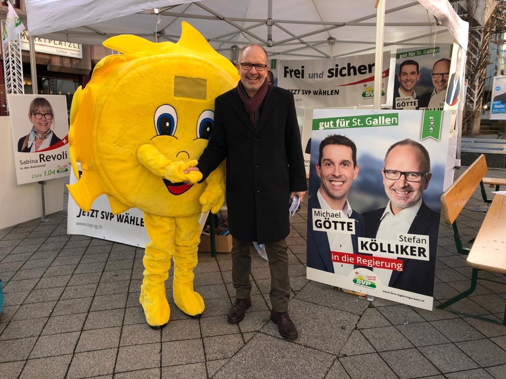 Wahlkampf 2020 (Samstag, 15.02.2020)